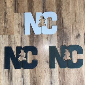 HANDMADE steel powder-coated NC signs!